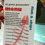 Tasty menu
