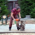 Chain saw artistry