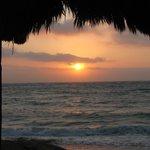 Sunrise at Mayan Beach Garden