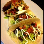 Tacos from our TACO TUESDAY- $1 Tacos!