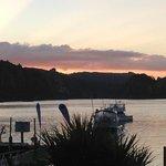 Sunset at Kingfish Lodge