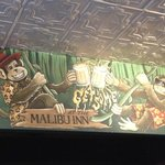 Great murals at the bar, great history! Tom Petty performed here for goodness