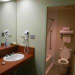 1036 Willow Motel 6 type bathroom