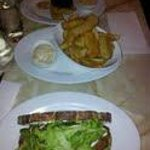our meals side of fries chicken snitczel sandwhic and steak and fries