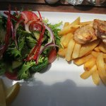Fish, Chips & Salad