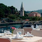 Restaurant Punta , sea view terrace