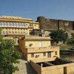 le palais et le fort
