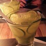 Famous brazilian cocktails Caipirinha