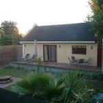Suite mit Terasse und eigenem Garten
