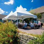 A large terrace overlooking the 18th green is ideal for an aperitif