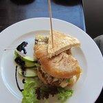 Beautifully presented Chicken Sandwich