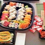 sushi party & tuna tartare & cirashi