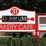 Bakery 31, home of scallop pies, Ross, Tasmania
