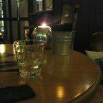Свечи на каждом столике