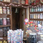 Sally's old-fashioned sweet shop