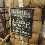 Historic cotton bale. :)