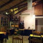 Inside Restaurant Garni