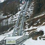 Ski railway