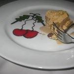 Chocolate and coffee dessert