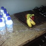 Fruit at the gym