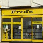 yum! Freds fish!