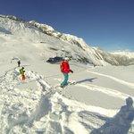 RK heli ski panorama