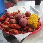 2lbs of tasty crawfish!