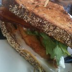 Green Fried Tomato BLT