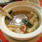 The best soup in Chiang Rai - Cabbages and Condom Restaurant.