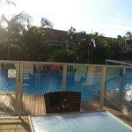 Swim out balcony