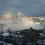 View of Horseshoe Falls from our window.