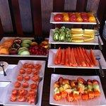 colazione buffet della frutta