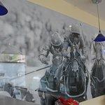 Artwork in Breakfast Area