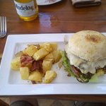 Lunch ... best burger anywhere!!!