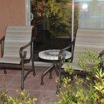 Mesa Suite patio