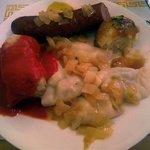 The Polish combination platter