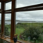 View from the breakfast/dining room