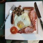 Clodaugh's delicious breakfast