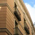 Front room balconies