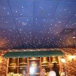 Star-studded ceiling