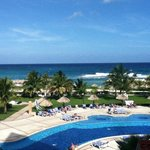 View from our balcony - Gran Bahia Principe - Jamaica