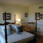 Orchard View Suite- Queen bed with gorgeous view of orchards and 3 piece ensuite bath..