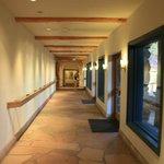 Museum corridor.