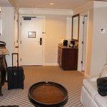 entryway of junior suite