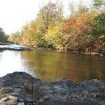 The Rapidan River in fall follage