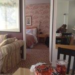 Bedroom taken from dinning area
