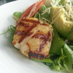 Scallop salad - make your own