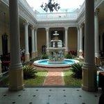 Parte de la entrada principal