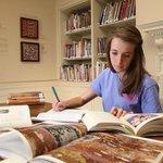 U.Va. student conducts research in the Kluge-Ruhe Study Center