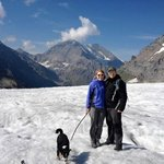 Days walk on glacier